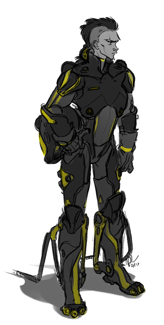 No Time to Explain so I'm Drawin' Tits (THE CYCLE IS COMPLETE) - Page 4 8133-day-16---mech-suit-by-blueraptor