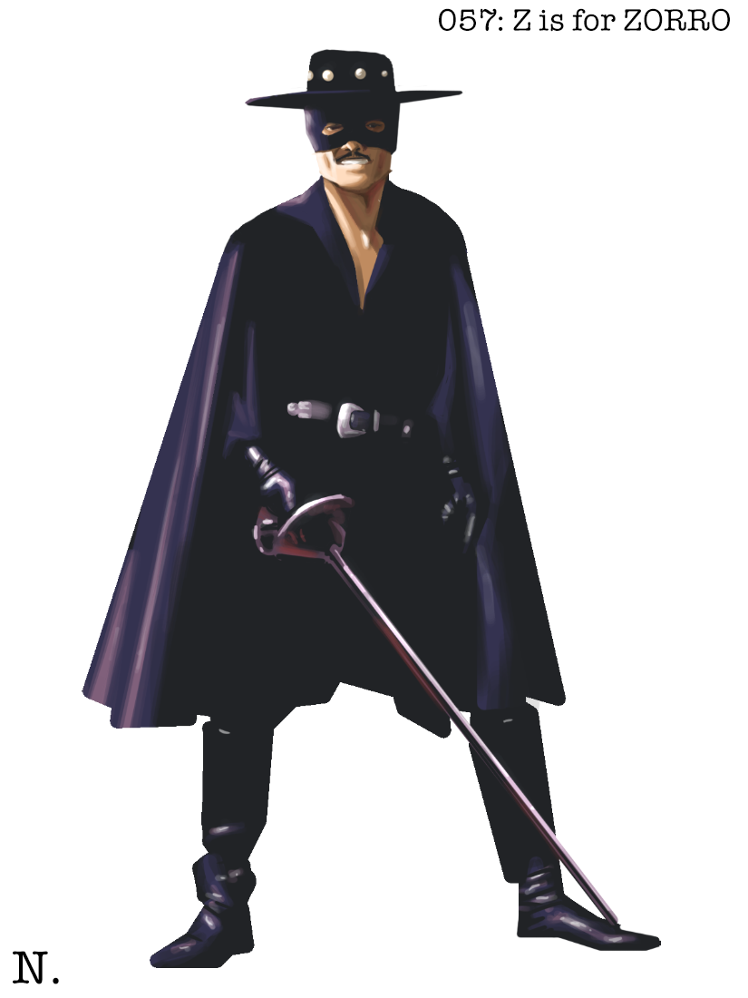 is for zorro alphasket...